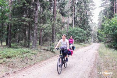 Rowerem przez Puszczę